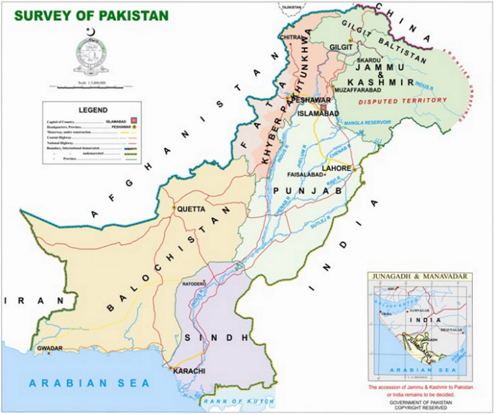 Pakistan MAP 01